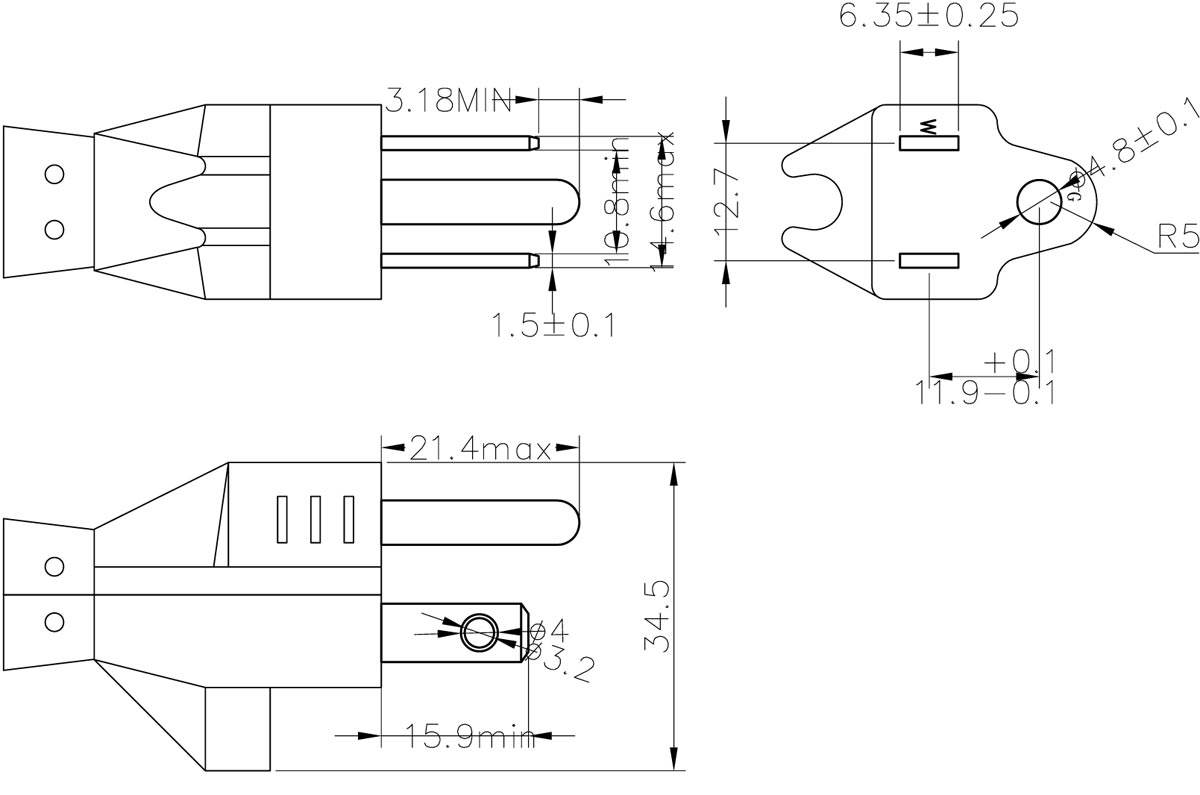 Leviton Plug Wiring Diagram from www.yunhuanelectric.com