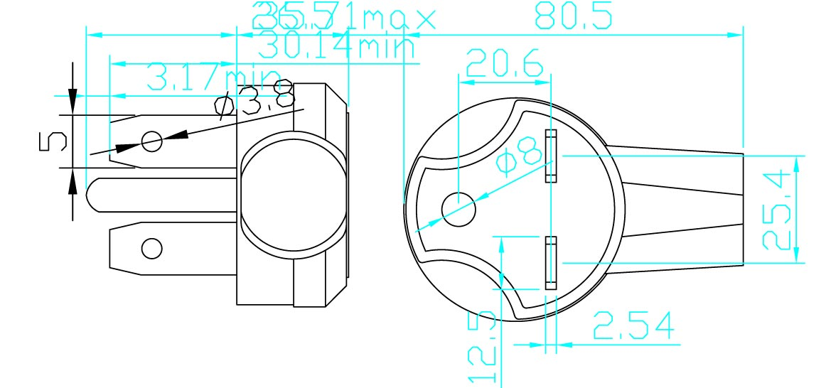 6 30p 30a 250v america heavy duty ac power cord 30 Amp Wiring Gauge