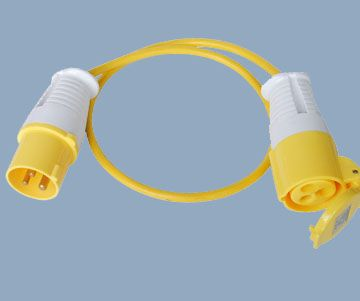 CEE Industrial Extension Cord 110V 16A Plug and Socket