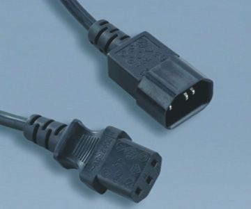 Argentina IEC C13 to C14 Computer power cords