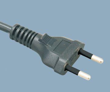 2 pin plug Brazil power cord