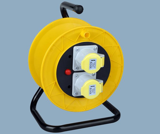 CEE Industrial Plug Extension Cable Reel