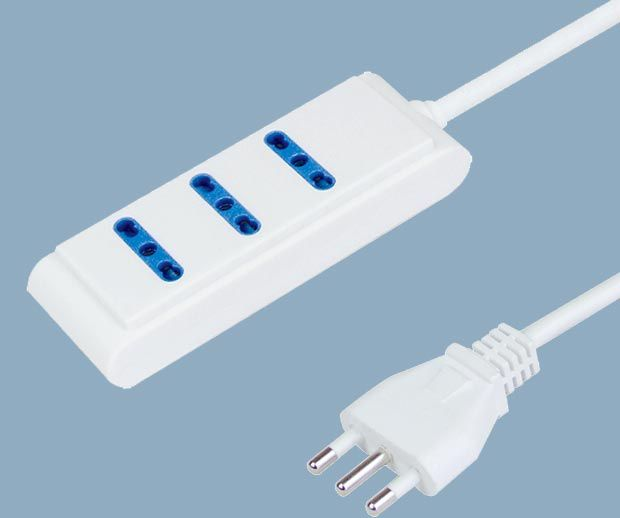 Extension Socket 3 Way With Child Protector