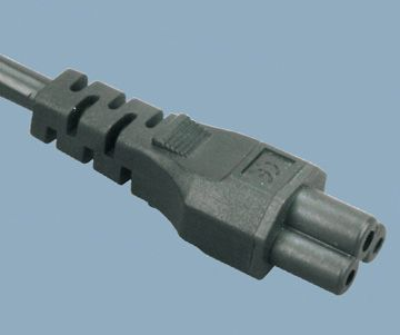 IEC 60320 C5 Italy AC Power Cord