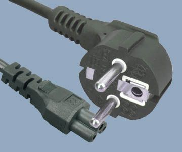 Korean KSC 8305 Plug IEC 60320 C5 Power Cord