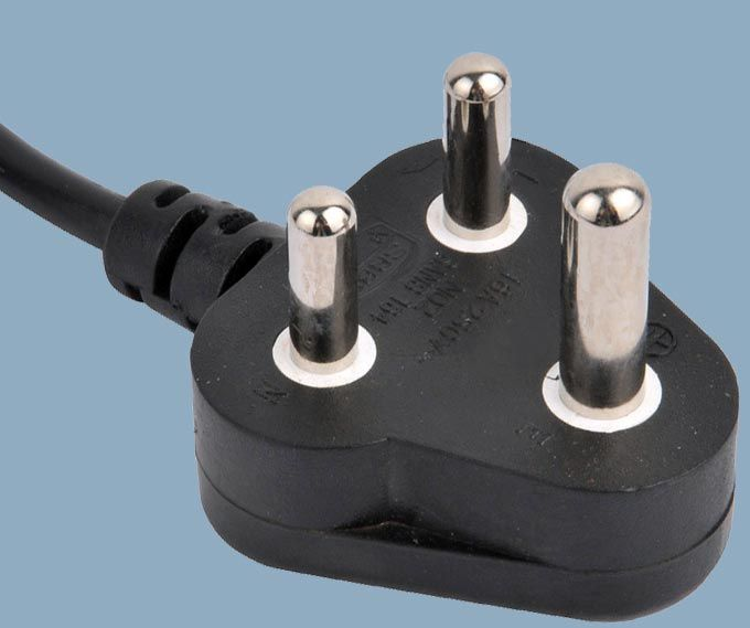 South Africa 16A Power Plug Cord Set