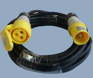 CEE Industrial Extension Cord Speedy Erection 110V 16A Plug and Socket