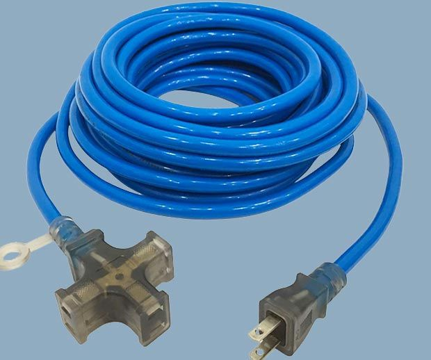 Three outlet Japan PSE extension cord