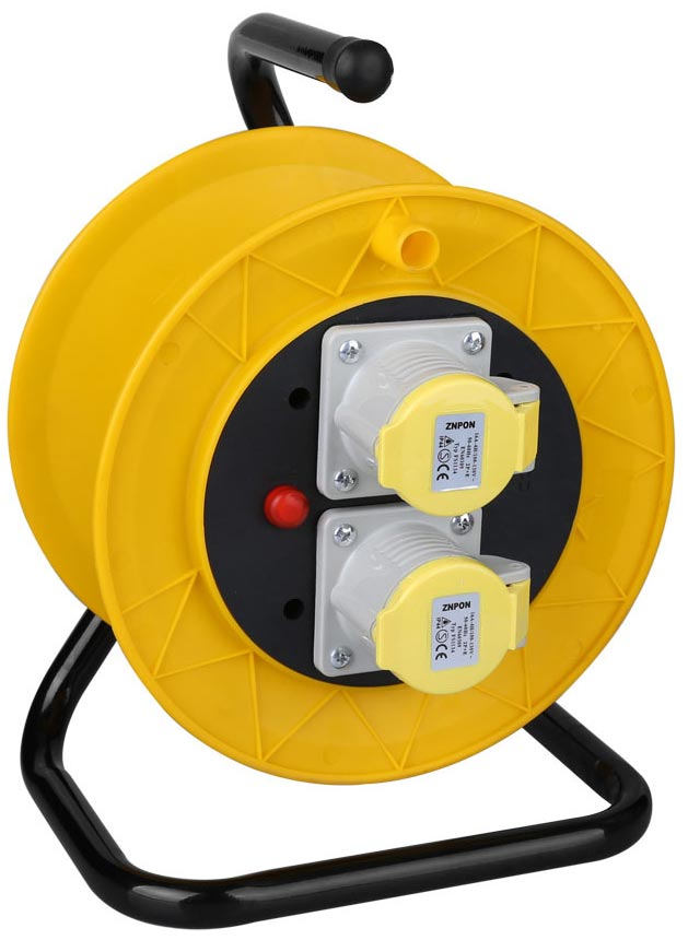 IEC 60309 industrial cable reel