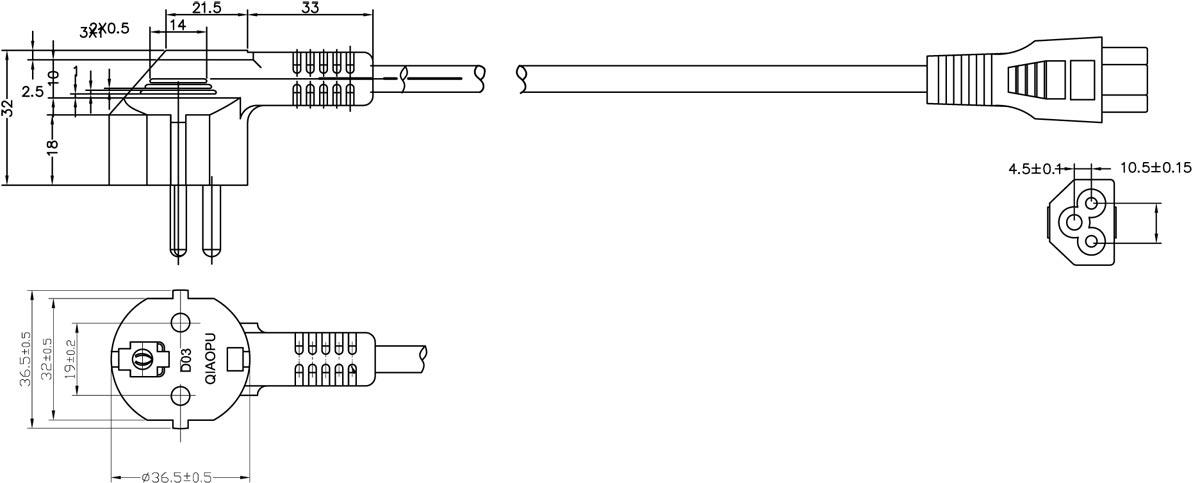 Iec Contactor Wiring Diagram : Iec power cords wiring diagrams diagram schemes