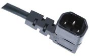 IEC 60320 C14 Power Cord Right Angle