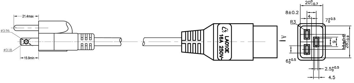 Iec Connector Wiring Diagram Iec Receptacle Wiring Diagram ...