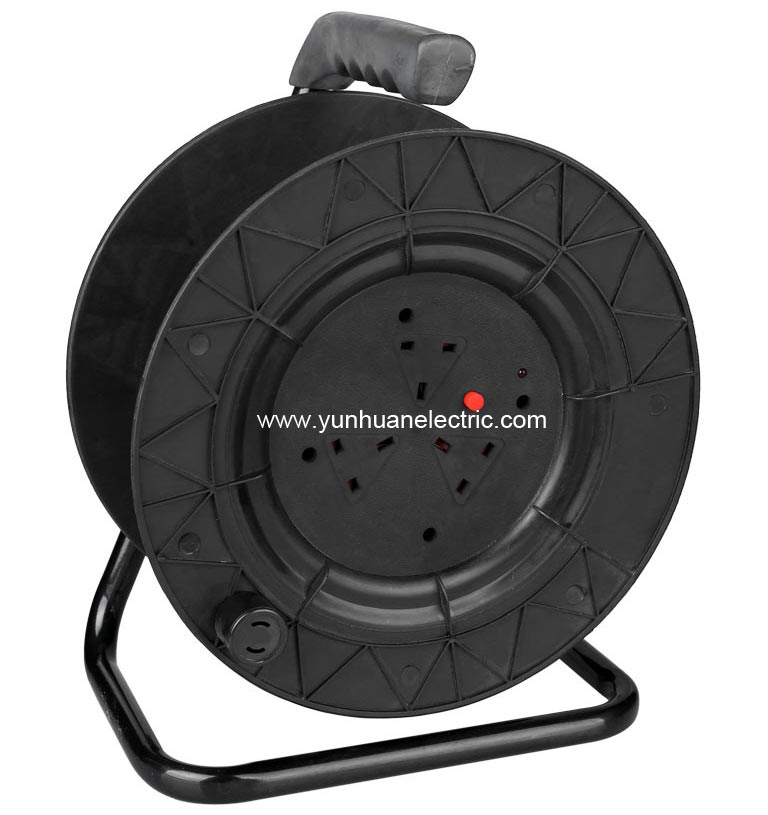 Mains Cable Reel British Type