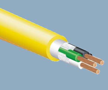 Rubber Sheathed Bulk Power Cable