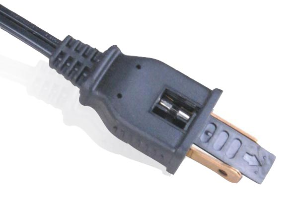 Power Cord Plug : Fuse power cords plugs