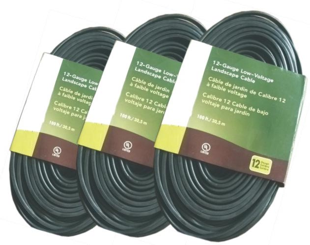 low voltage underground landscape lighting cable pvc flexible cord