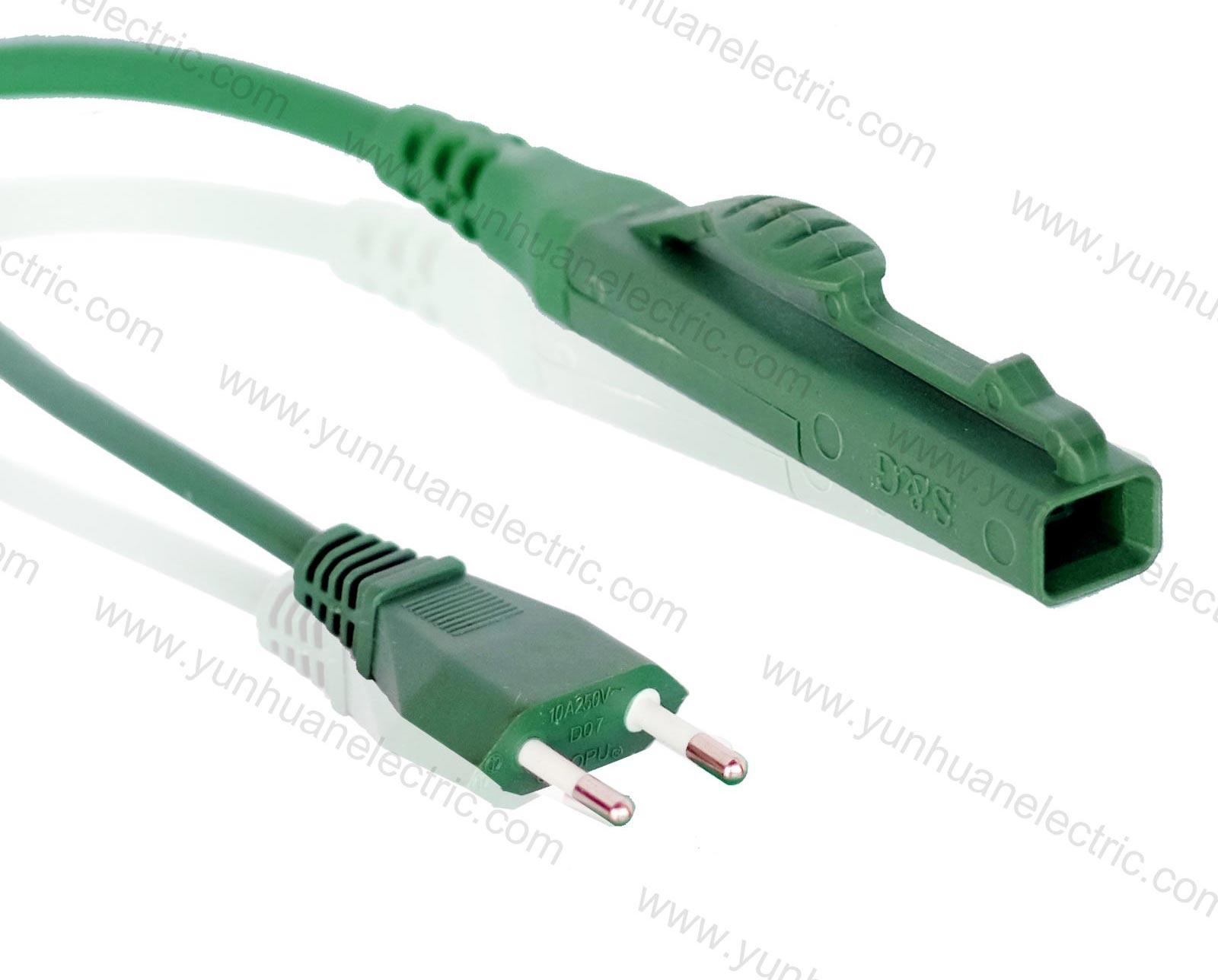 Italy Plug To Vorwerk Kobold VK 130-131 Vacuum Cleaner Power Cord FVC-3