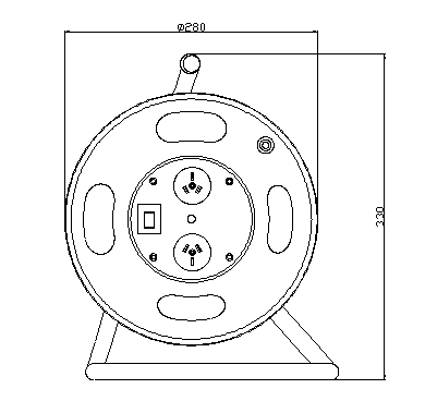SAA approval Australia cable reel drawings