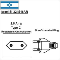 Israel SI-32 IS16AR power plug