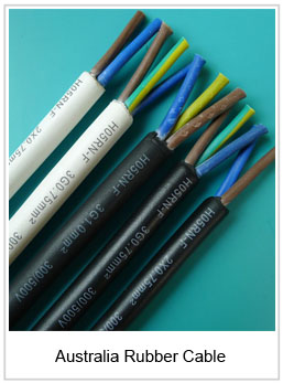 Australia rubber cable