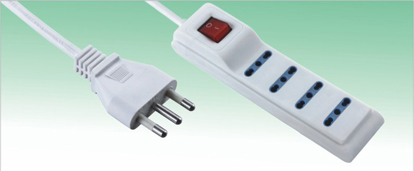 4 way extension socket with switch