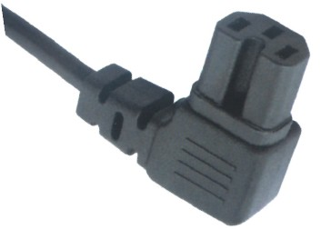 IEC 60320 C15 Power Cord Right Angle