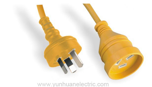 Australia Power Cord,Plug,Flexible Cable Standard on