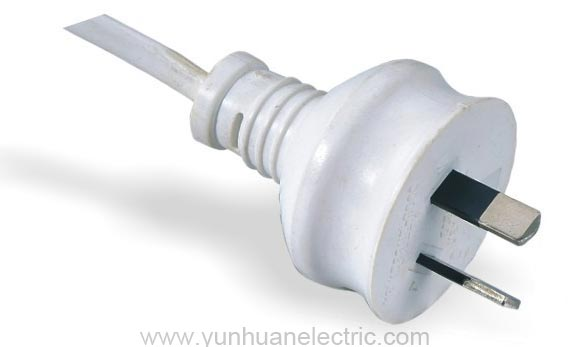LA022A LA020B 2-conductor Non-rewirable Plug Power Supply Cord