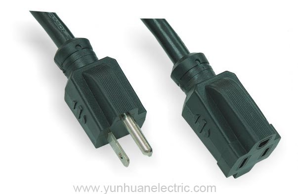 Japan Power Cord Plug Flexible Cable Standard