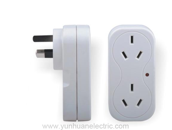 LCA02S Outlet Device Socket Outlet Adaptor with surge