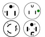 Ameirca power cord guide,NEMA standard plugs guide