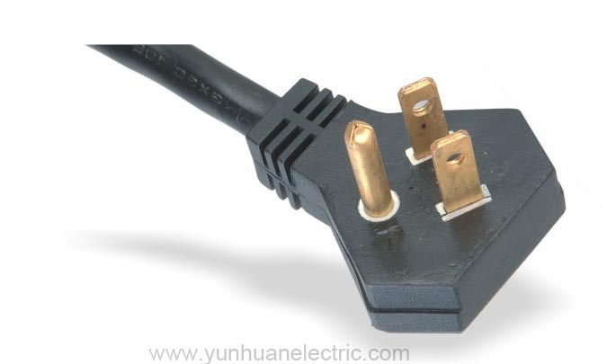 Power Supply Cord America NEMA 5-15P Flat Plug LA003P