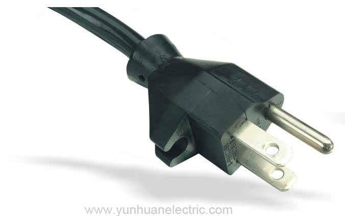 Power Supply Cord America NEMA 5-15P LA004B