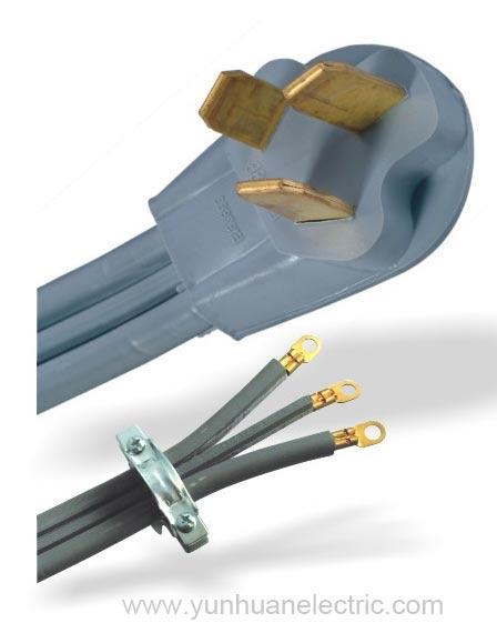 50A Plug with range cord