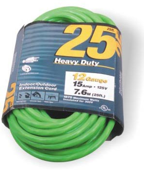 3 Outlet Extension Cord American 25FT