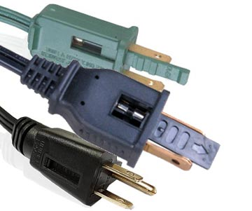 Fuse Plug Power Cords