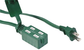 Indoor Cube Tap 2 Conductor Extension Cords LA001C LA002B