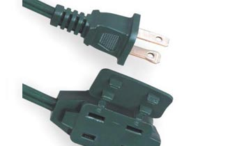 Indoor Cube Tap 2 Conductor Extension Cords LA001C LA002F