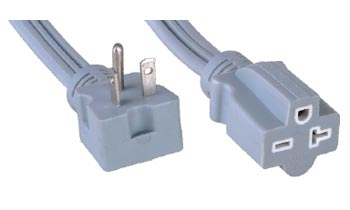 1 15 13a 125v Cube Tap 2 Conductor Indoor Extension Cord