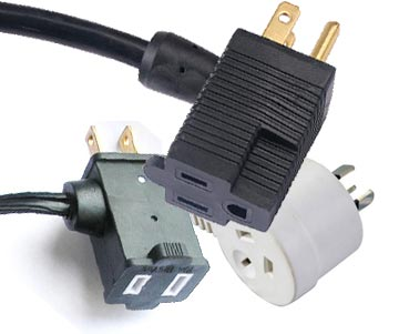 Piggyback Plug Power Cords