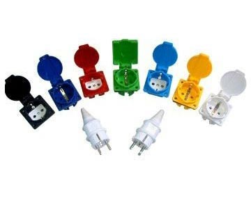 Rewire-able Plug Power Cords
