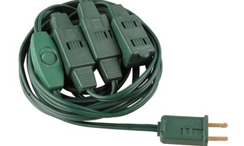 Seasonal Use Extension Cord Sets Xmas Tree LA090A