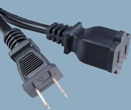 1-15 15A 125V 2 Conductor Single Outlet Outdoor Extension Cord