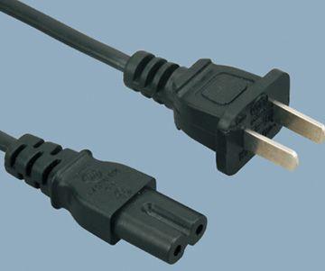 2 pin China plug C7 power cord