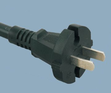 2 pin plug China power cord