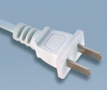 2 prong 10A China power cord