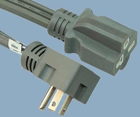 5-20 20A 125V 3 Conductor Heavy Duty Air Conditioner Cord