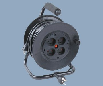 Cable Reel Denmark Type 4 Outlet Socket IP20 Max 60M