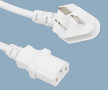 China 3 Prong Plug IEC C13 Power Cord