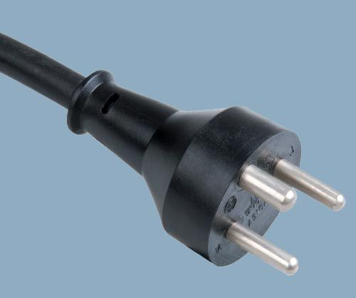 Danish Category K Plug AFSNIT 107-2-D1 DEMKO Power Cord